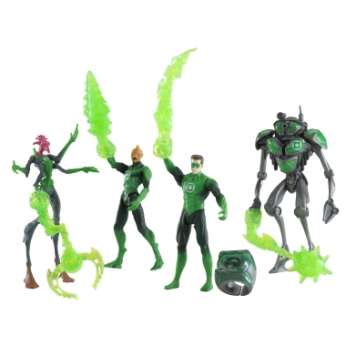"Green Lantern ""Lantern Leaders"" 4-Pack Figure Assortment"