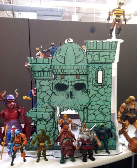 Mattel Matty Collector Masters of the Universe Castle Greyskull