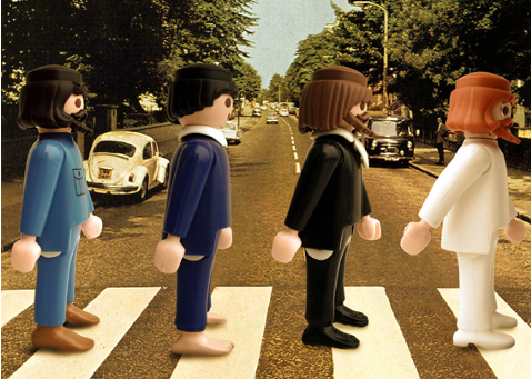 Playmobil The Beetles Abbey Road