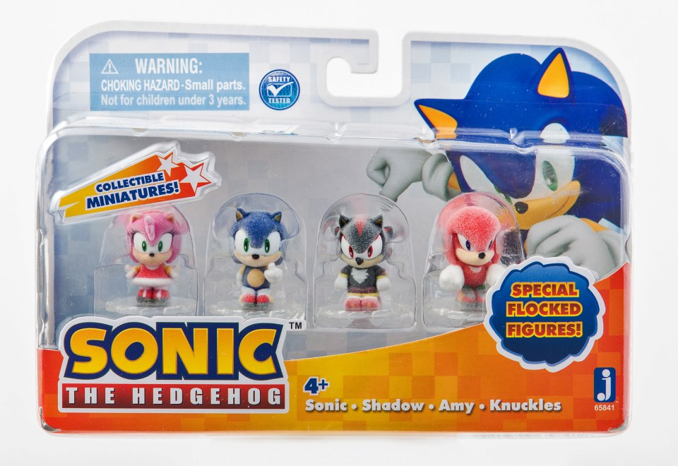 New Sonic Figure Set Will Feature Tiny Yet Collectible Hedgehogs Kollectobil