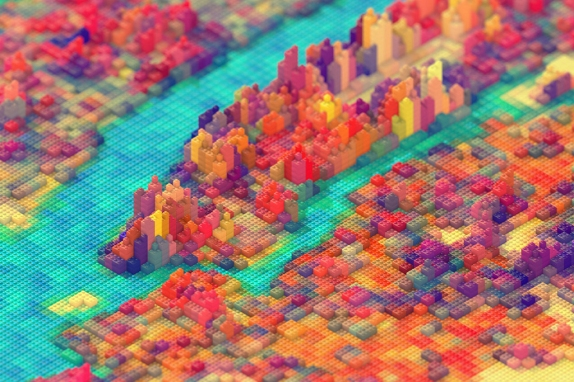 The Big Apple-New York City Built Out of LEGO