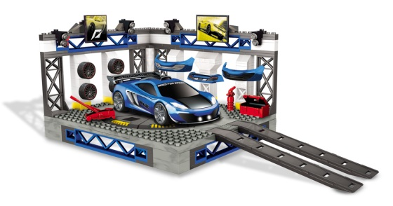 Custom Garage (McLaren) - Mega Bloks