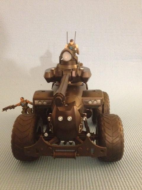 Erector Gears Of War Centaur Front