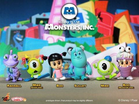 Hot Toys Monsters Inc Cosbaby Series