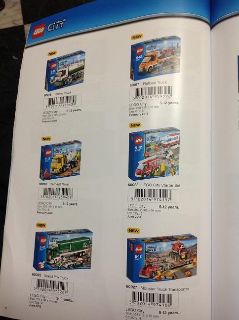 LEGO City Summer 2013