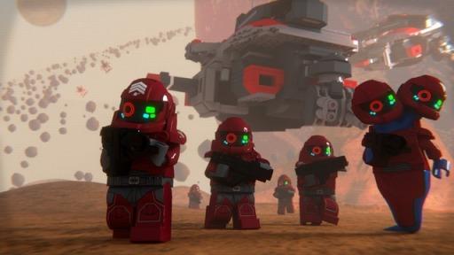 LEGO CUUSOO Space Marines