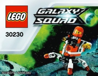 LEGO Galaxy Squad Mini Mech 30230