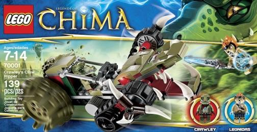 LEGO Legends of Chima Crawleys Claw Rippper 70001