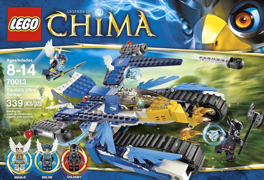 LEGO Legends of Chima Equilas Ultra Striker 70013