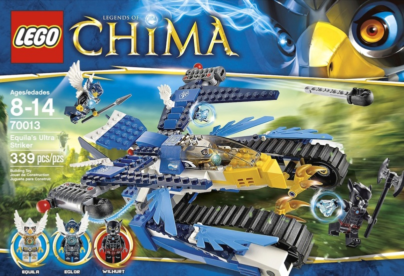 LEGO Legends of Chima Equilas Ultra Striker 70013