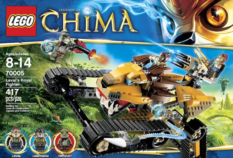 LEGO Legends of Chima Wakz Pack Tracker 70004