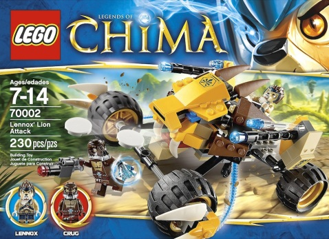 LEGO Legends of Chima Lennox Lion Attack 70002