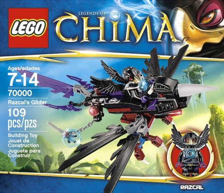 LEGO Legends of Chima Razcals Glider 70000