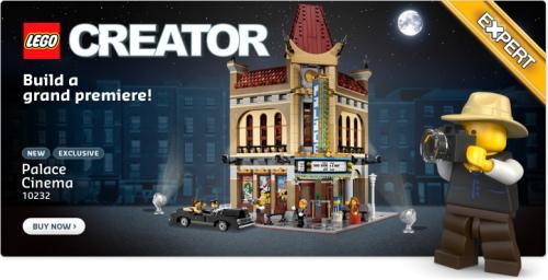 LEGO Palace Cinema Modular Building Set 10232