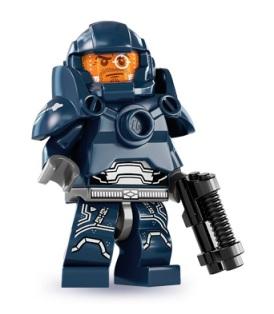 LEGO Series 7 Collectible Minifigures 8831 Galaxy Patrol