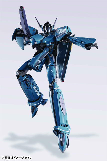 Macross Frontier Tamashii DX VF-171 Nightmare Plus Battroid Mode