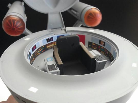 Star Trek The Original Series USS Enterprise Minimates Cockpit