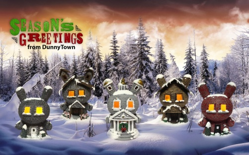 Task One DunnyTown LED Lit Dunnys