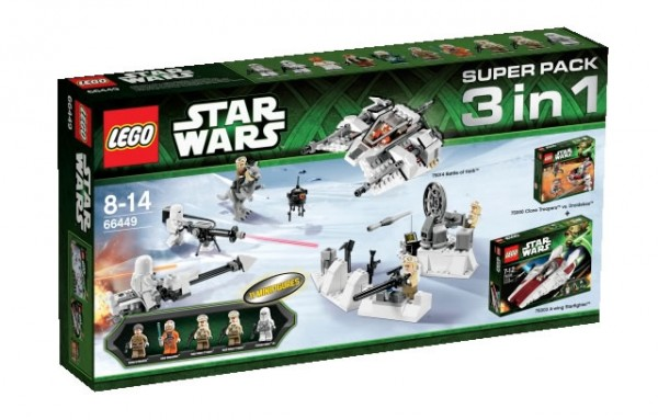 3 in 1 LEGO Star Wars Super Pack 66449