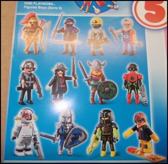 5460 Playmobil Figures Boys Series 5