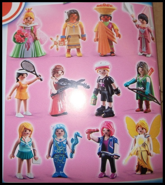 5460 Playmobil Figures Girls Series 5