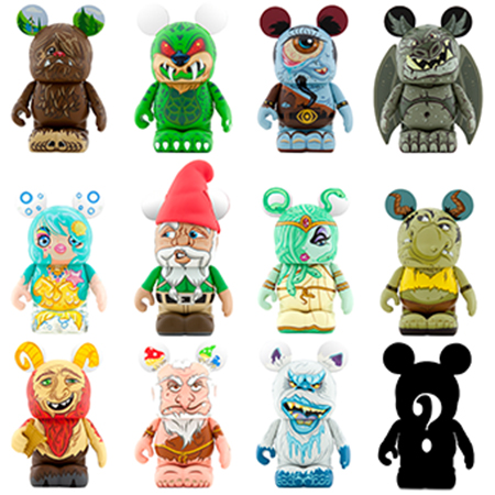 Disney Myths and Legends Vinylmation