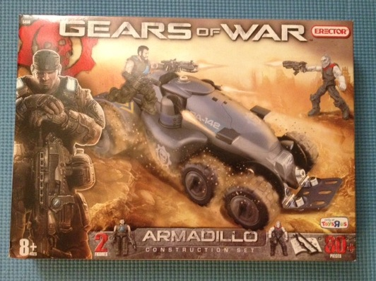 Erector Gears Of War Armadillo Construction Set Box