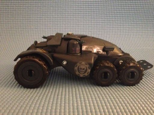 Erector Gears Of War Armadillo Construction Set Side