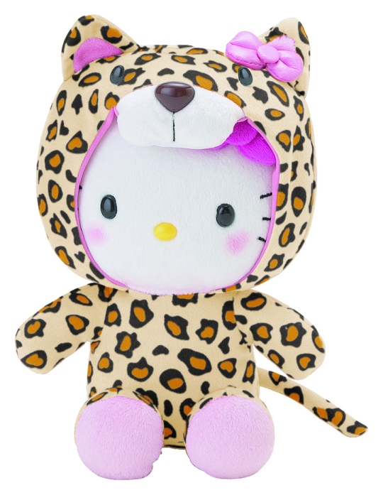 Hello Kitty Hooded - Leopard