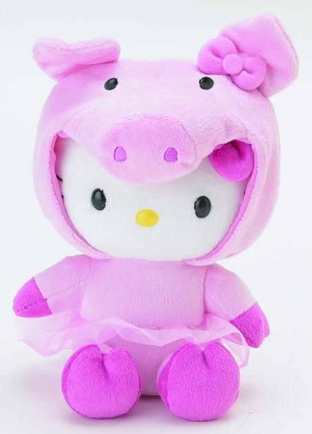 Hello Kitty Hooded - Piggy