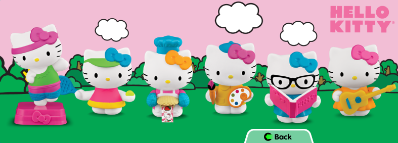 Hello Kitty McDonalds Happy Meal Toys