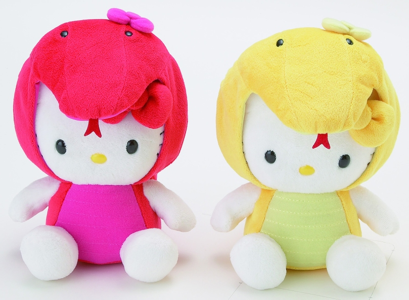 Hello Kitty Year of the Snake - Gold and Red