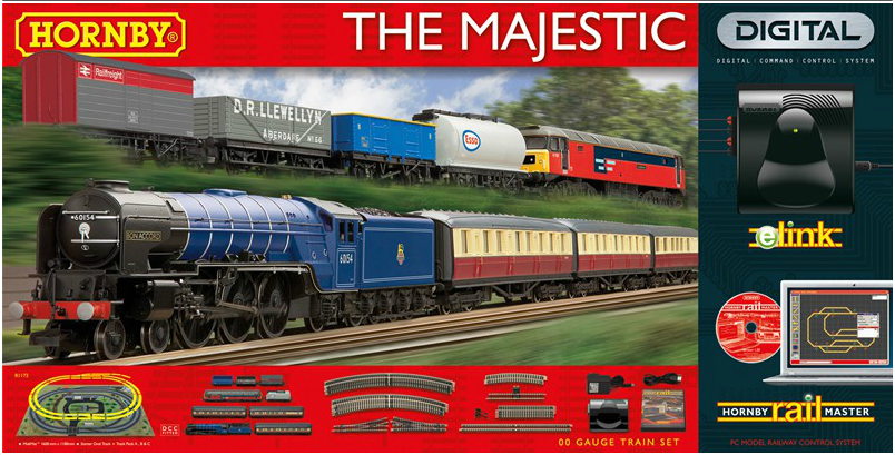 Hornby The Majestic Train Set with eLink