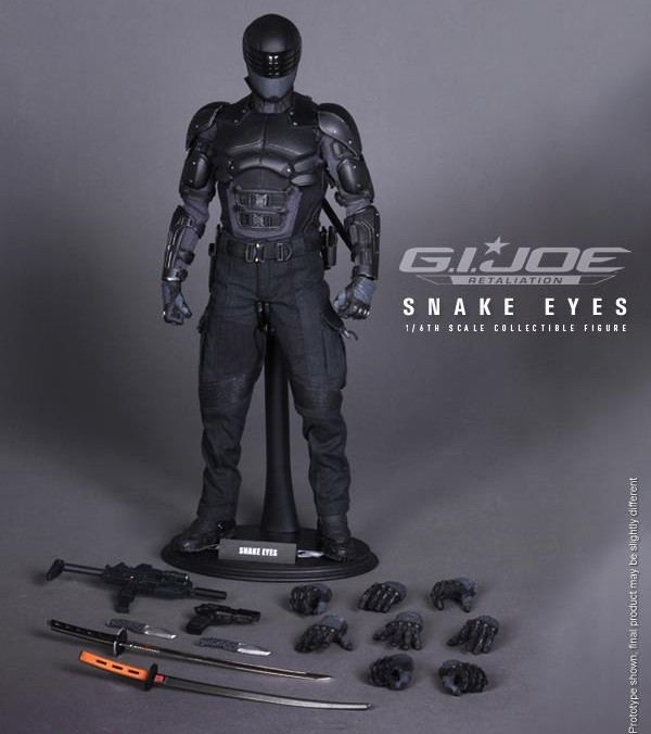 Hot Toys G.I. Joe Retaliation- 1/6th scale Snake Eyes Collectible Figure