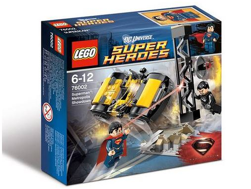 LEGO Super Heroes 76002 Superman's Metropolis Showdown