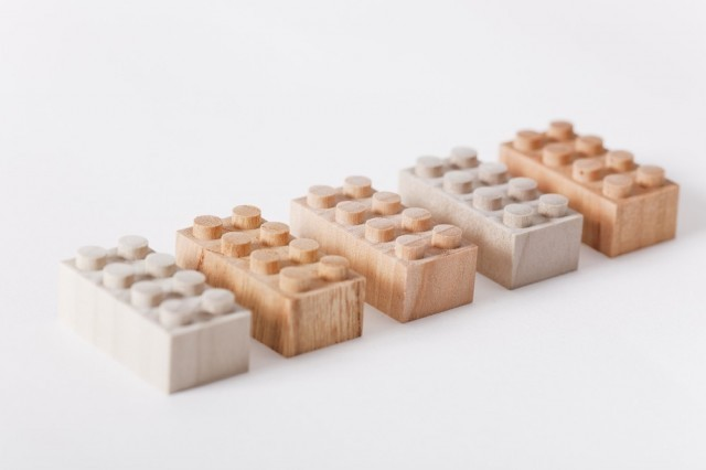 Mokurokku Wooden Bricks