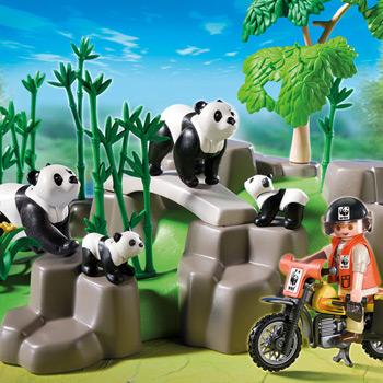 Playmobil World Wildlife Federation Panda Habitat