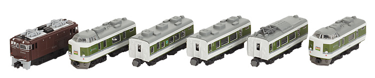 Bandai B-Train Shorty 189 series Asama