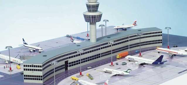 Herpa Model Airport Terminal