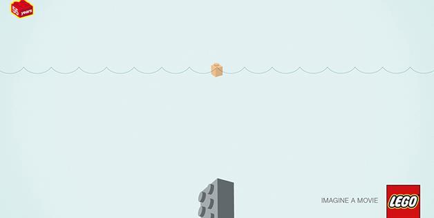 Jaws LEGO Puzzle