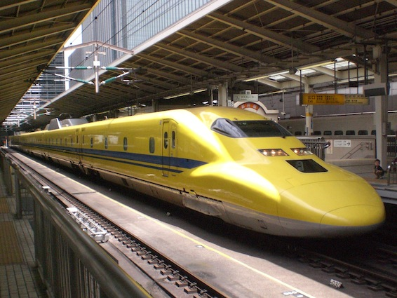 JR West Class 923 Dr Yellow Shinkansen