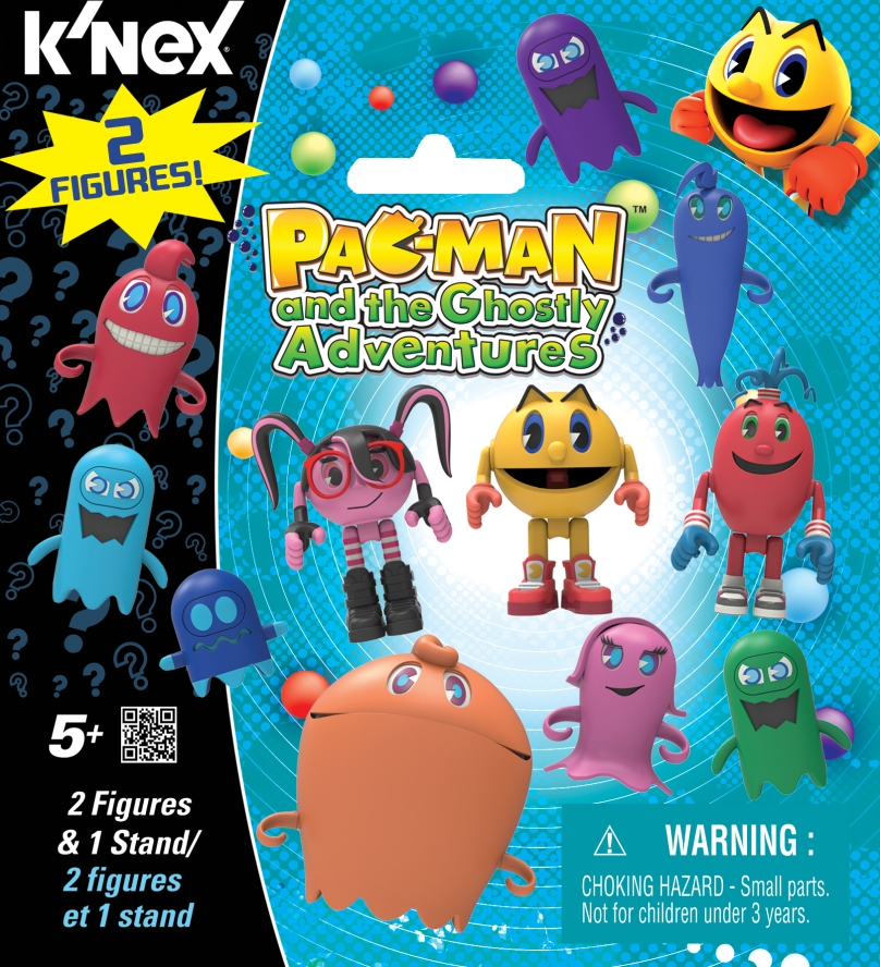 KNEX 413520 PAC-MAN Mystery Pack