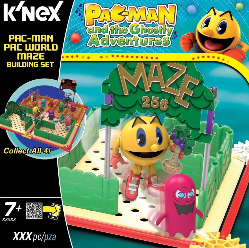 KNEX 413521 Pac-Man Pac World Maze Assortment