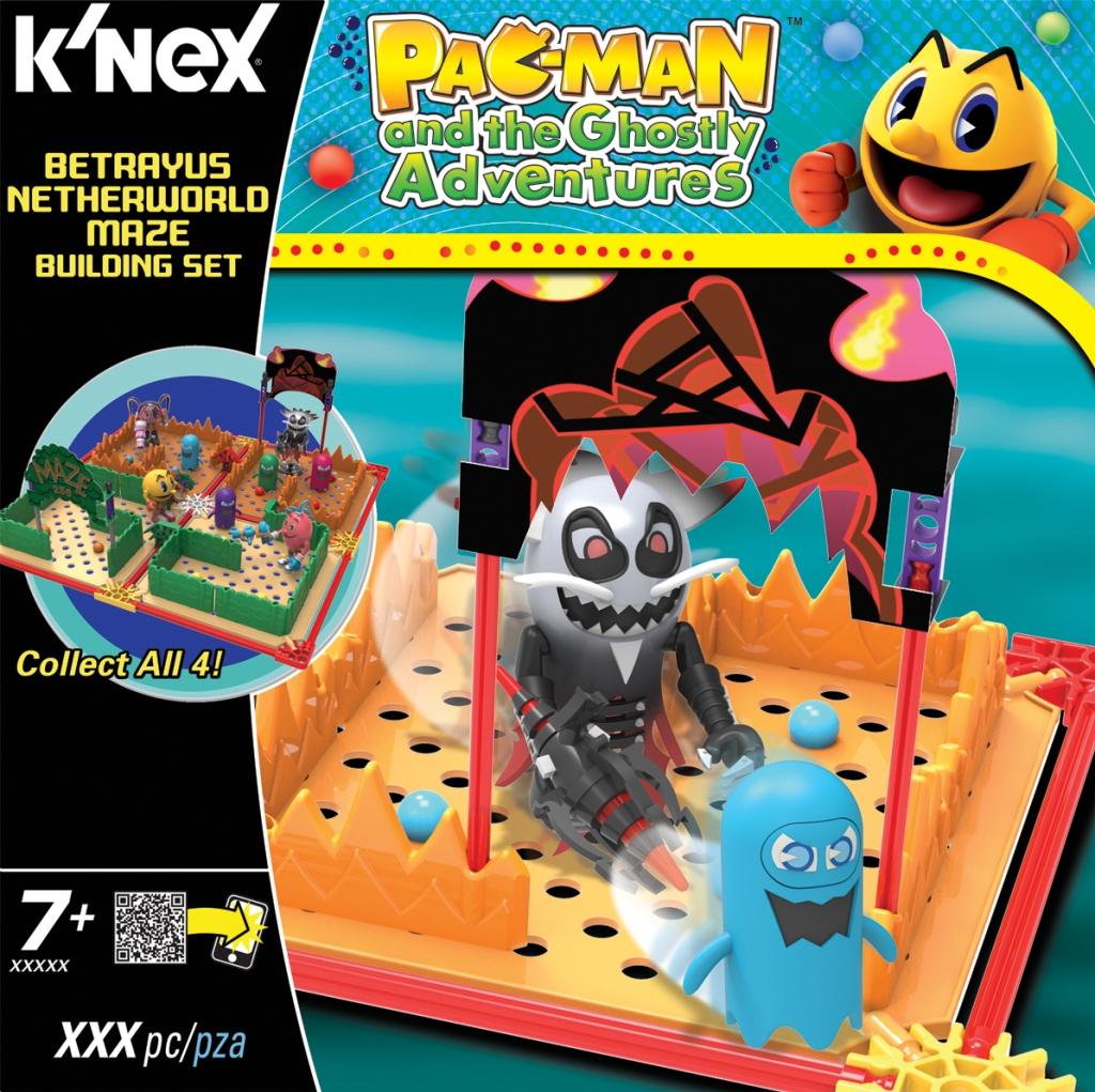 KNEX 413522 PAC-MAN Betrayus Netherworld Maze