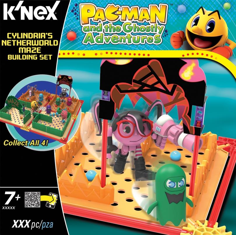 KNEX 413523 PAC-MAN Cylindrias Netherworld Maze