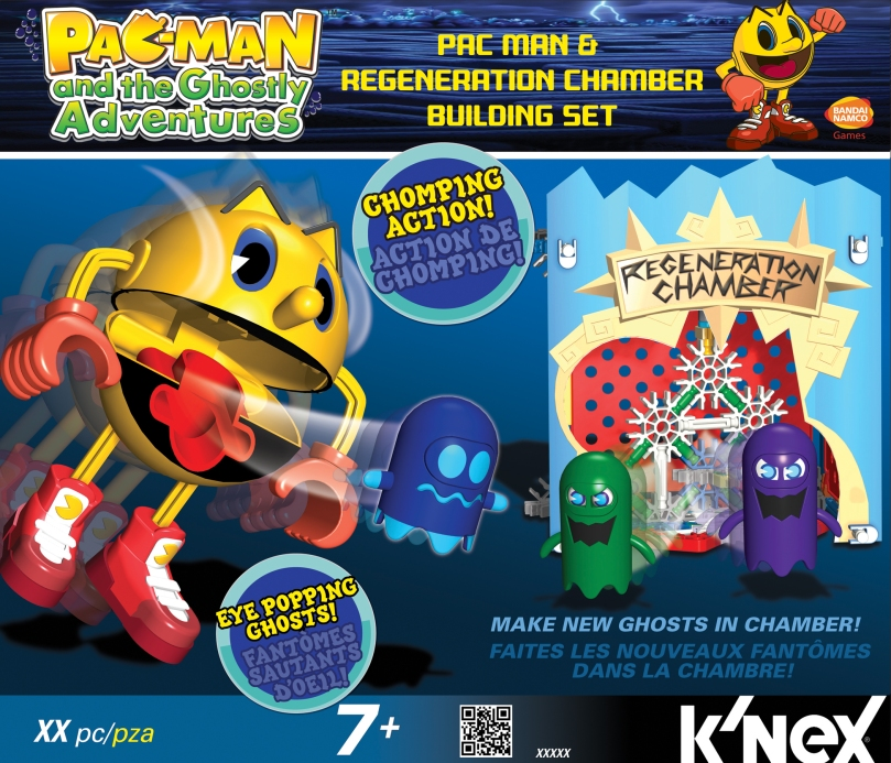 KNEX 413524 Pac-Man&Ghost Regeneration Chamber