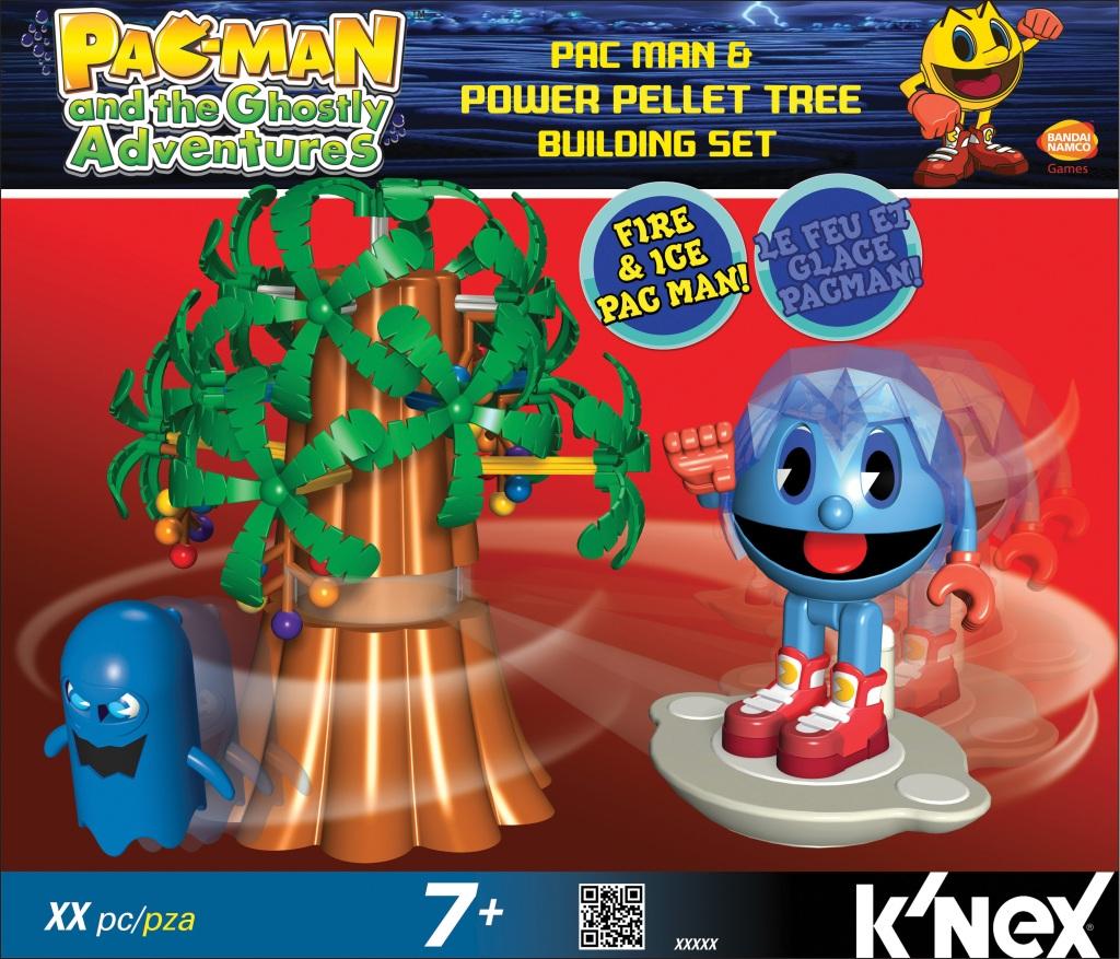 KNEX 413525 PACMAN Pac-Man & Power Pellet Tree