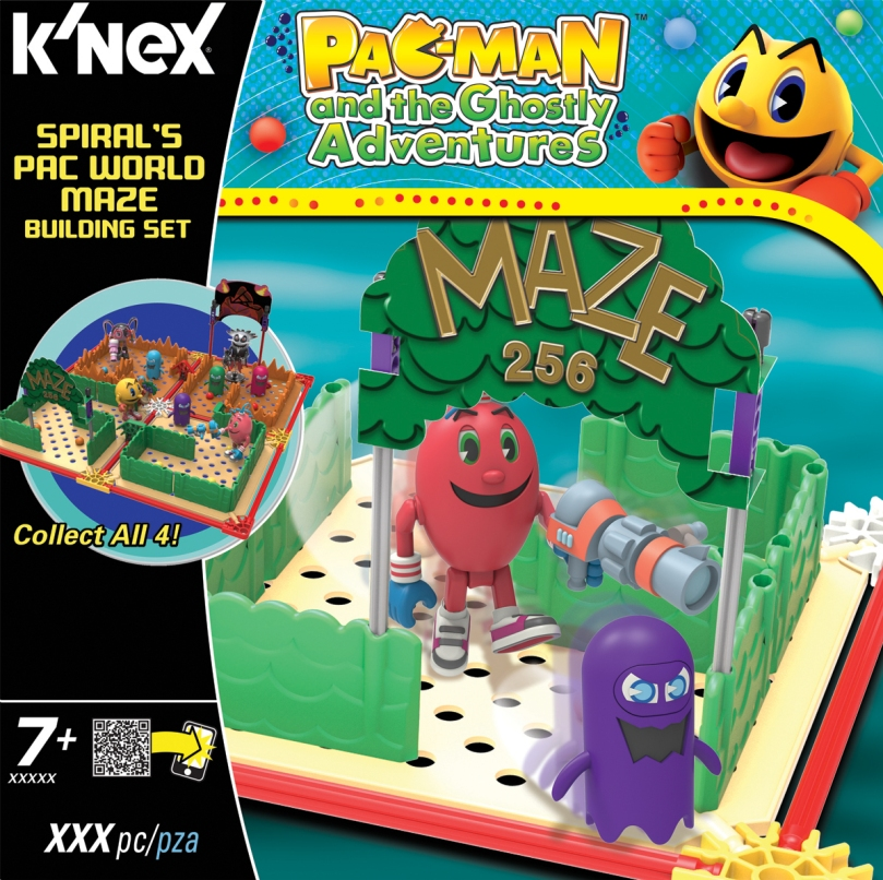 KNEX 413547 PAC-MAN Spirals Pac World Maze