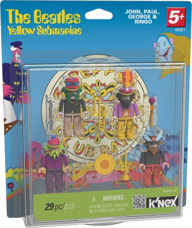 KNEX 48051 Beatles Sgt Peppers Figures