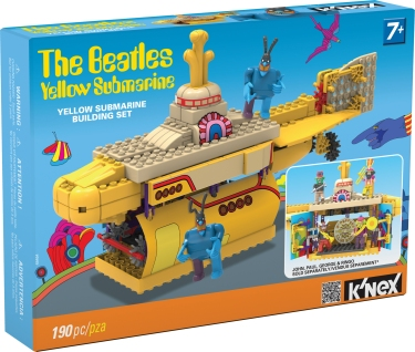 KNEX 48464 Beatles Yellow Submarine